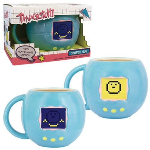 Tamagotchi Shaped Heat-Change Mug