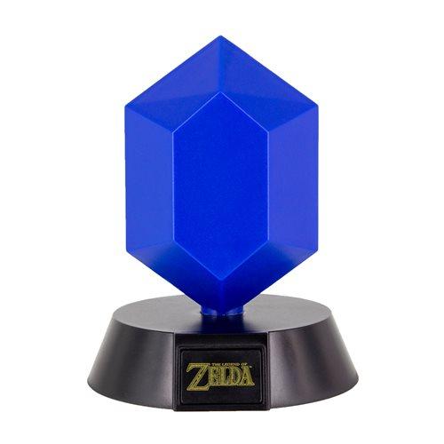 Legend of Zelda Blue Rupee Icon Light