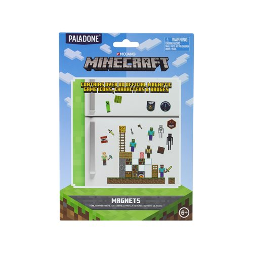Minecraft Build-a-Level Magnets