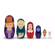 Willy Wonka and the Chocolate Factory Nesting Dolls Set