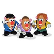 Three Stooges Mr. Potato Head Boxed Set