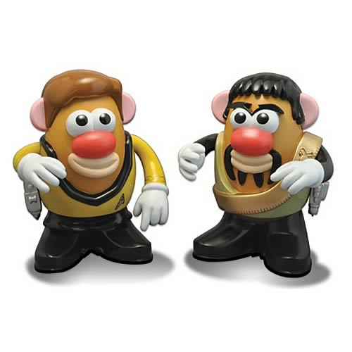 Star Trek Kirk and Kor the Klingon Mr. Potato Head 2-Pack