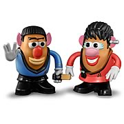 Star Trek Spock and Uhura Mr. Potato Head 2-Pack