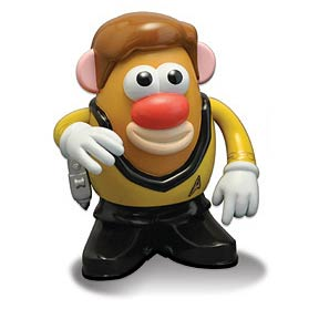 Star Trek the Original Series Kirk Mr. Potato Head