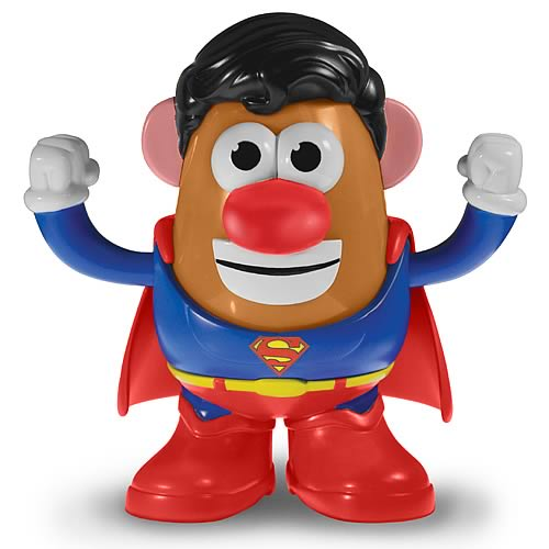 Superman Mr. Potato Head