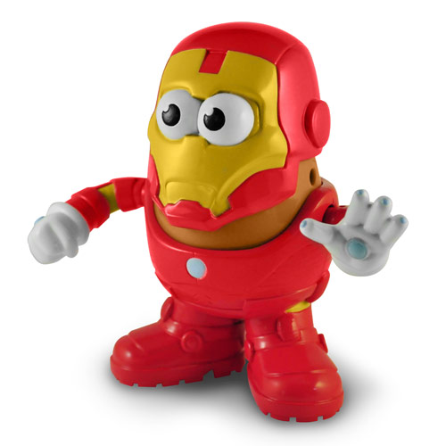 Iron Man Marvel Comics Mr. Potato Head