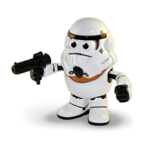 Star Wars Imperial Stormtrooper Poptaters Mr. Potato Head