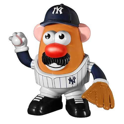 MLB New York Yankees Series 2 Mr. Potato Head