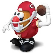 NFL Kansas City Chiefs Mr. Potato Head