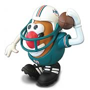 NFL Miami Dolphins Mr. Potato Head