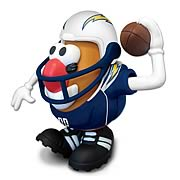 NFL San Diego Chargers Mr. Potato Head