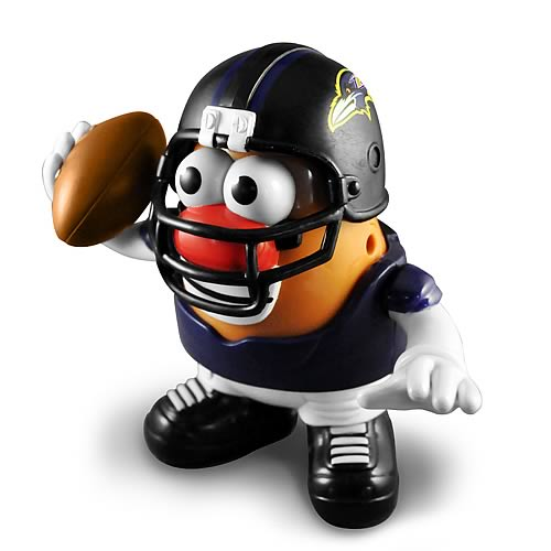 NFL Baltimore Ravens Series 2 Mr. Potato Head