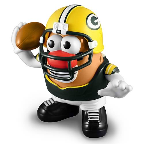 NFL Green Bay Packers Series 2 Mr. Potato Head