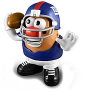 NFL New York Giants Series 2 Mr. Potato Head
