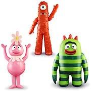 Yo Gabba Gabba Jumbo Action Figures Set