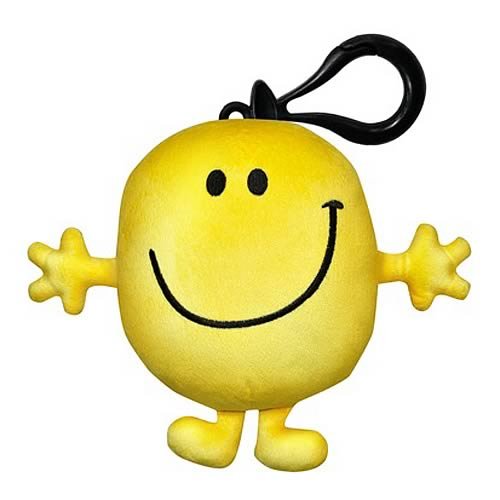 Mr. Men Mr. Happy 4-Inch Mini-Plush