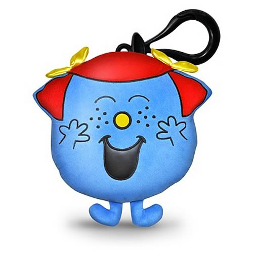 Mr. Men Miss Giggles 4-Inch Mini-Plush