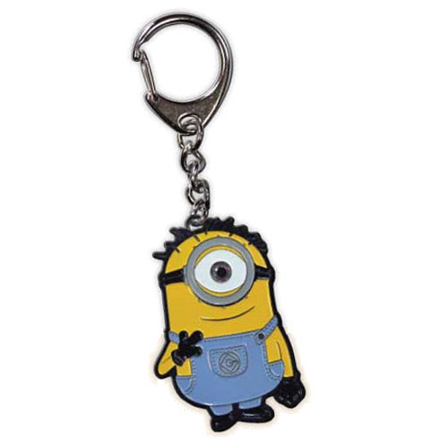 Despicable Me Single Minion Die-Cast Metal Key Chain