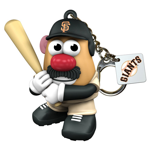 MLB San Francisco Giants Mr. Potato Head Key Chain