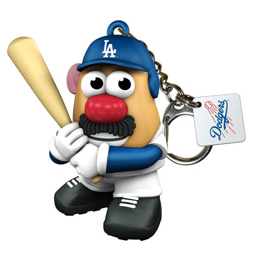 MLB Los Angeles Dodgers Mr. Potato Head Key Chain