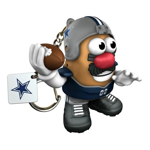 NFL Dallas Cowboys Mr. Potato Head Key Chain