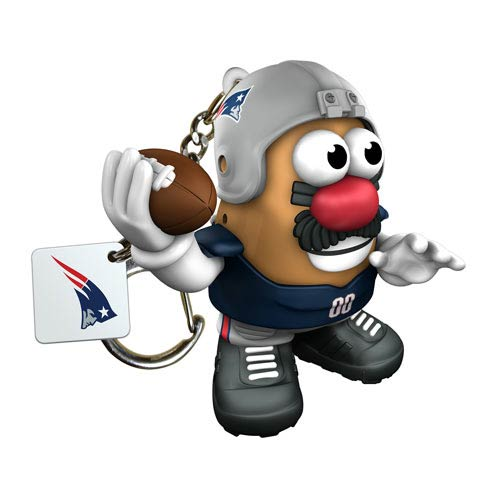 NFL New England Patriots Mr. Potato Head Key Chain