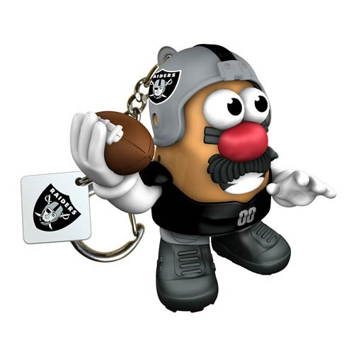 NFL Oakland Raiders Mr. Potato Head Key Chain