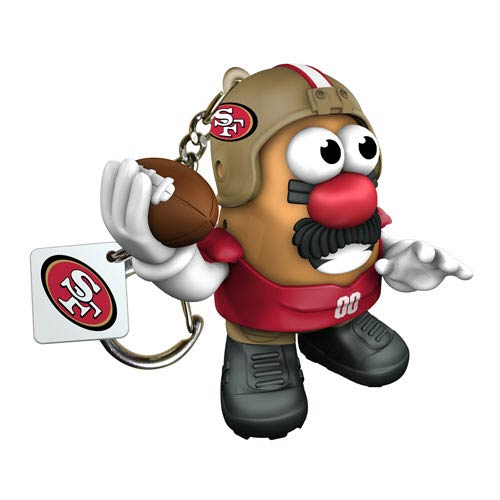NFL San Francisco 49ers Mr. Potato Head Key Chain