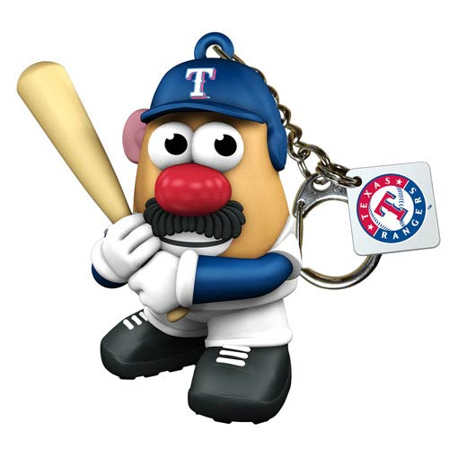 MLB Texas Rangers Mr. Potato Head Key Chain