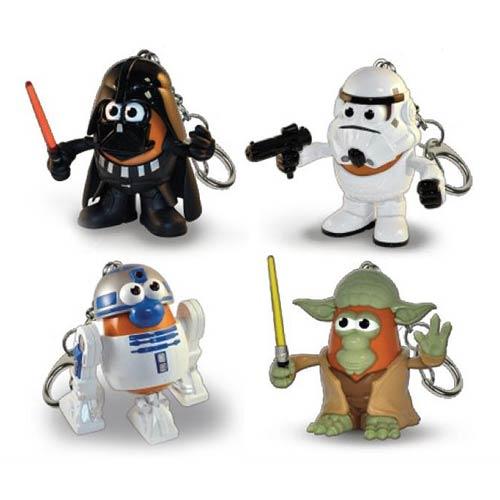 Star Wars Mr. Potato Head Key Chain Set