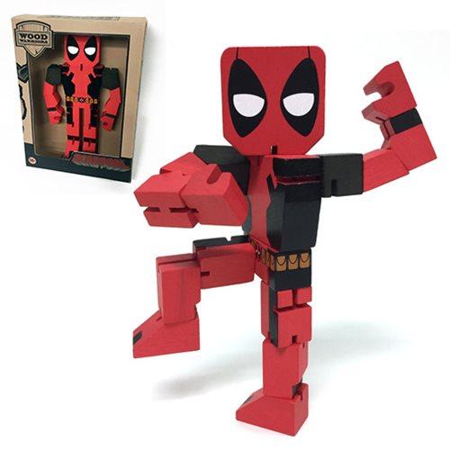 Deadpool Wood Warriors Action Figure