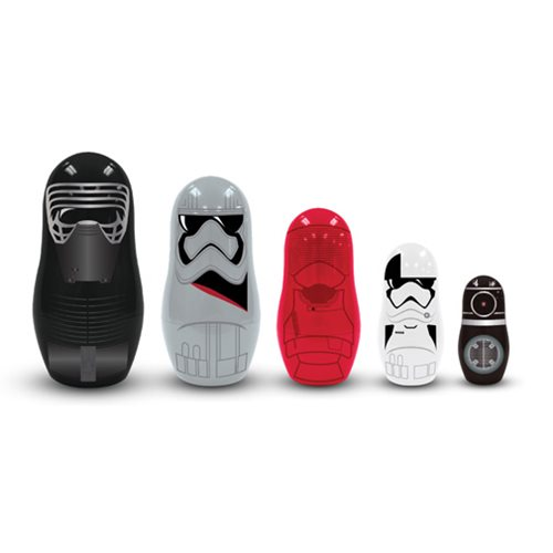 Star Wars The Last Jedi First Order Nesting Dolls