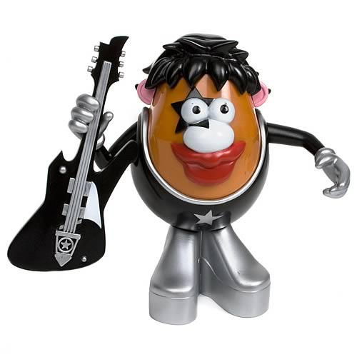 KISS Paul Stanley Mr. Potato Head