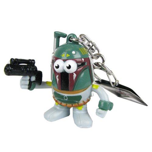 Star Wars Boba Fett Mr. Potato Head Key Chain