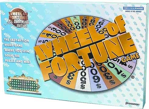 Wheel of Fortune Anniversary Edition