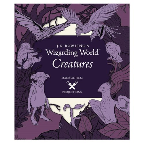 J.K. Rowling's Wizarding World Creatures Projections Book