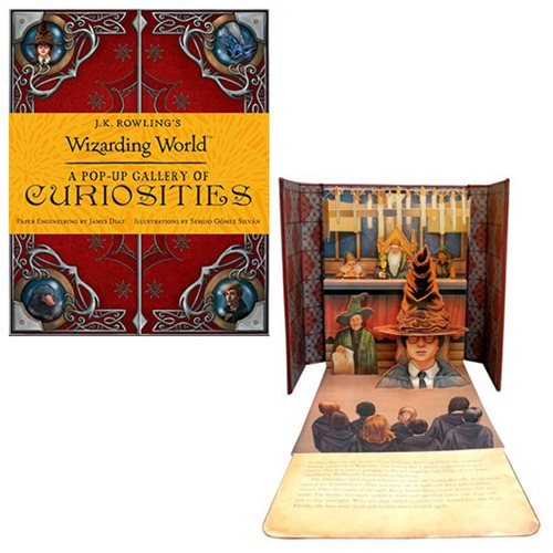 J.K. Rowling's Wizarding World: A Pop-up Gallery of Curiosities Hardcover Book