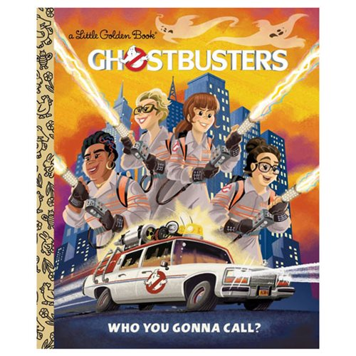 Ghostbusters 2016 Ghostbusters: Who You Gonna Call Little Golden Book