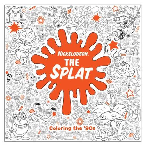 Nickelodeon The Splat Coloring the 90s Coloring Book  Penguin