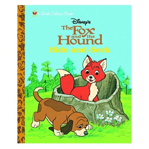 The Fox and the Hound:ÿHide and Seek Little Golden Book