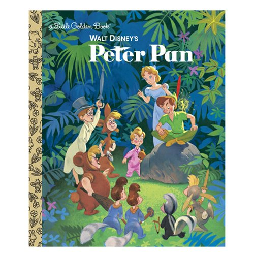 Walt Disney's Peter Pan Little Golden Book