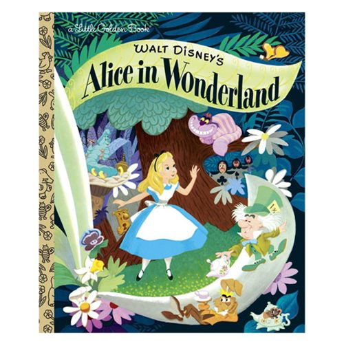 Walt Disney's Alice in Wonderland Little Golden Book