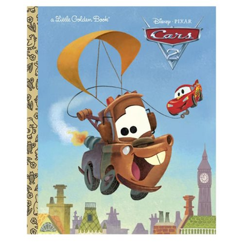 Disney/Pixar Cars 2 Little Golden Book