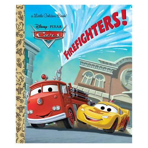disneypixar cars firefighters little golden book