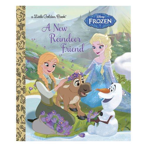 Frozen A New Reindeer Friend Little Golden Book