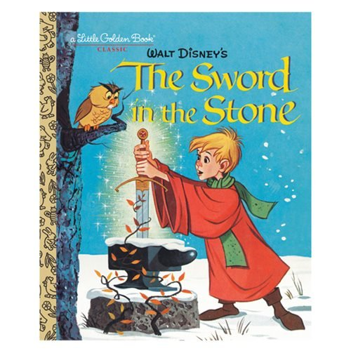 The Sword in the Stone Little Golden Book