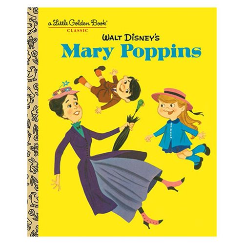 Walt Disney's Mary Poppins Little Golden Book