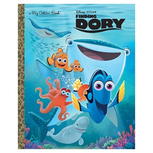 Disney Pixar Finding Dory Big Golden Book