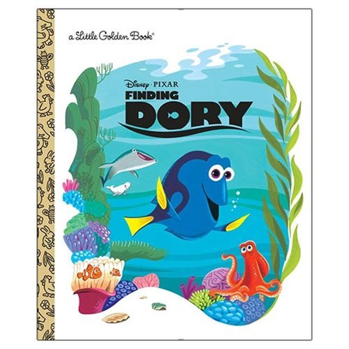 Disney Pixar Finding Dory Little Golden Book
