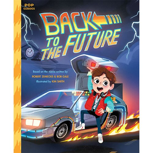 Great Scott! The hilarious hit movie from the 1980s is now a wild and wacky picture book perfect for kids of any age! For years since its theatrical debut, Back to the Future remains a perennial favorite in classrooms and at family movie nights across the country. This story illustrated by Kim Smith captures all the classic moments of the film through fun and kid-friendly illustrations. Follow teenage Marty McFly as he travels from 1985 to 1955, meets his parents (as teenagers), and teaches his father how to stand up to bullies. Complete with a time-traveling DeLorean, a mad scientist companion, and a lightning-fueled finale, this is the perfect book for kids, parents, and anyone looking to go back in time. The Back to the Future: The Class